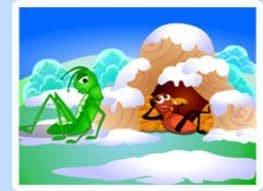 Winter Grasshopper